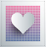 Digital heart Stock Photography