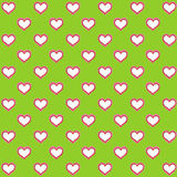 Digital hearts and colors paper for decorations. Digital love paper and clip-art Stock Photos