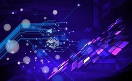 Digital-Hintergrund Lizenzfreie Stockbilder