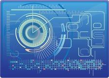 Digital-Hintergrund lizenzfreie stockfotografie