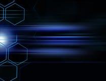 Digital-Hintergrund-Rasterfeld stock abbildung