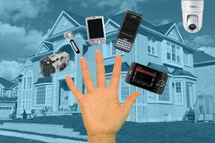 Digital Home Royalty Free Stock Photography