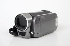 Digital Home Video Camera With Sd Card Stock Photo