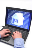 Digital house Royalty Free Stock Images