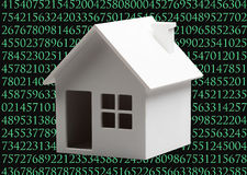 Digital house Stock Photo