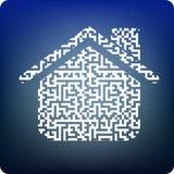 Digital house Stock Photography