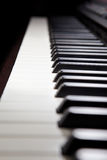 Digital hybrid piano Stock Images