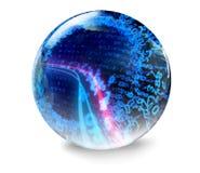 Digital i technologii tło Zdjęcia Stock