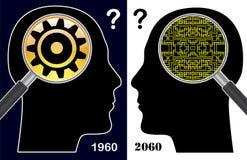 Digital Idiot versus Digital Native Stock Photos