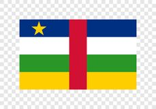 Central African Republic - National Flag vector illustration