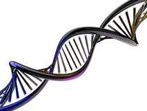 Digital illustration of a DNA model. 3D. Rendering Stock Image