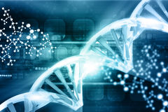 Digital illustration of DNA Stock Image