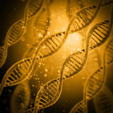 Digital illustration DNA structure Stock Photos