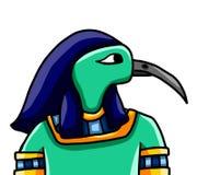 Egyptian God Thoth royalty free illustration