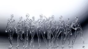 Digital Illustration of a Female Manikins Relief. Digital 3D Illustration of a Female Manikins Relief Royalty Free Stock Photography
