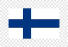 Finland - National Flag. Digital Illustration Finland of National Flag Stock Photo