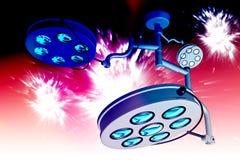 Digital illustration of Operation theatre light Royalty Free Stock Photo