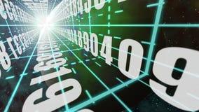 Digital Information stock video