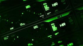 Digital interface screen stock video