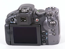 digital isolerad white för kamera Arkivfoton