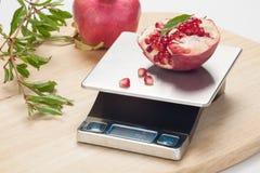 Digital-Küchen-Skala Stockbilder