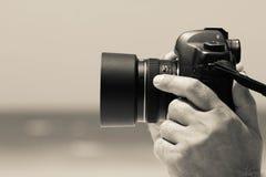 Digital kamera Royaltyfria Bilder