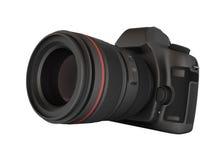 Digital kamera för Reflex royaltyfri illustrationer