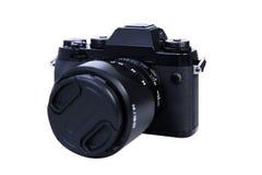Digital kamera som isoleras på vit på Thailand Fotografering för Bildbyråer