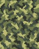 Digital kamouflage seamless3 Arkivfoton