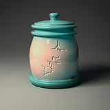 Digital keramik - krus med bruten jorddesign Fotografering för Bildbyråer