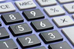 The digital keyboard Stock Images