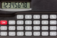 Digital keypad background Stock Photo