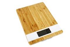 Digital kitchen scale Royalty Free Stock Photos
