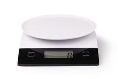 Digital kitchen scale Stock Photo