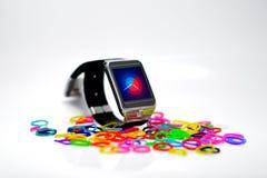 Digital klocka Royaltyfria Foton