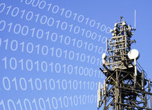 Digital-Kommunikationen stockfotos