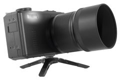 Digital kompakt kamera Arkivbild