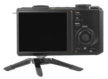 Digital kompakt kamera Fotografering för Bildbyråer