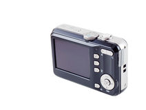 Digital-kompakte Kamera getrennt Lizenzfreies Stockbild