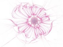 Digital konstdesign Abstrakt färgrik Fractaltextur bukettbows figure seamless litet för blommamodell Royaltyfria Foton