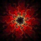 Digital konstdesign Abstrakt färgrik Fractaltextur bukettbows figure seamless litet för blommamodell Arkivbild