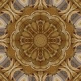 Digital konstdesign, modell som göras med sandkonstruktion royaltyfri illustrationer