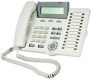 digital kontorstelefon Royaltyfria Bilder
