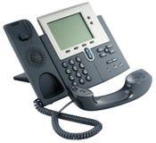 digital krok av den set telefonen för kontor Royaltyfria Foton