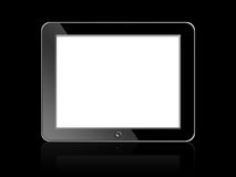 Digital LCD Frame. Black blank Digital LCD Frame isolated on white background Royalty Free Stock Image