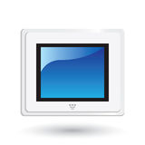 Digital LCD Frame -EPS Vector- Stock Image