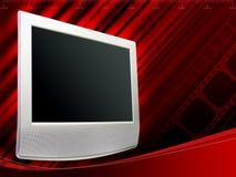 Digital Lcd Television & Lcd Monitor Royalty Free Stock Photography