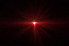Digital lens flare Royalty Free Stock Photography