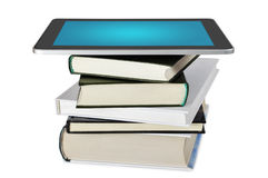 Digital library Royalty Free Stock Photo