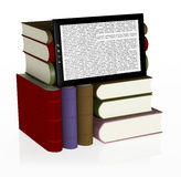 Digital library Royalty Free Stock Image